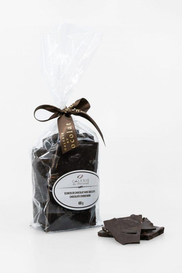Dark Chocolate Cookie Bark 400g