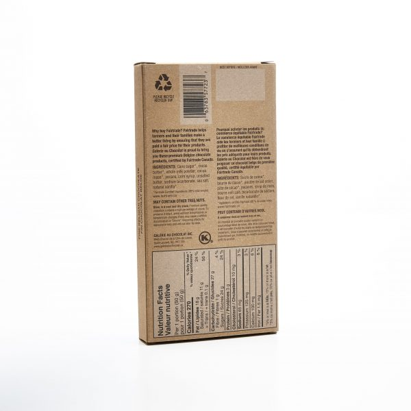 Fairtrade - Milk Chocolate Pecan Caramel