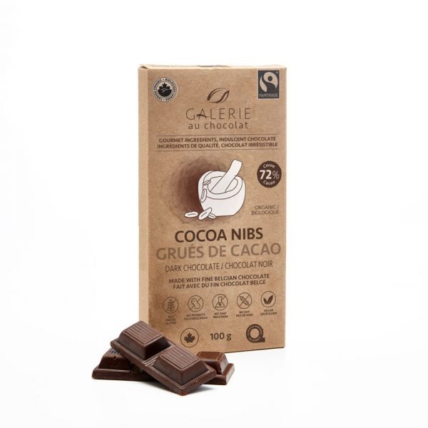Fairtrade - Dark Chocolate Cocoa Nibs
