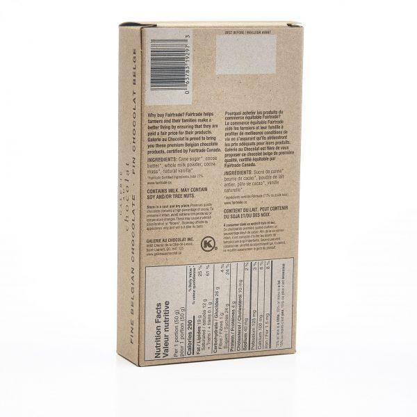 Fairtrade - Pastilles De Cuisson au Chocolat au Lait 36%
