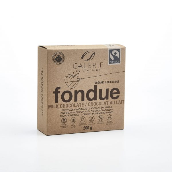 Fairtrade - Milk Chocolate 37% Fondue