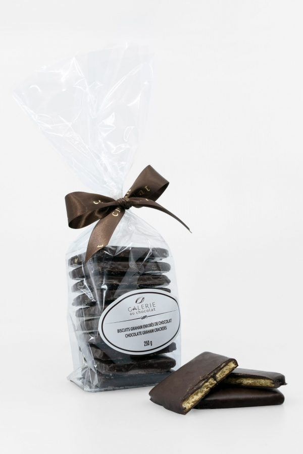 Dark Chocolate Covered Graham Crackers 250g