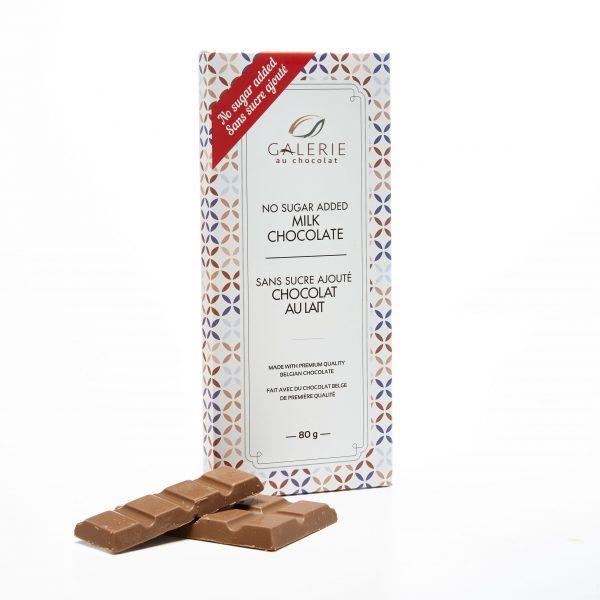 Sans Sucre Ajouté Chocolat au Lait
