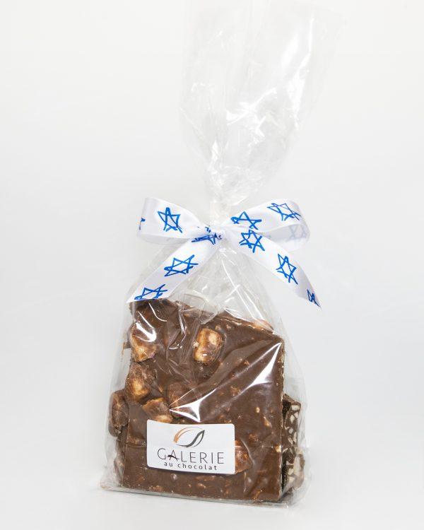 Produit Laitier Casher Écorces de Chocolat au Lait Rocky Road 400g