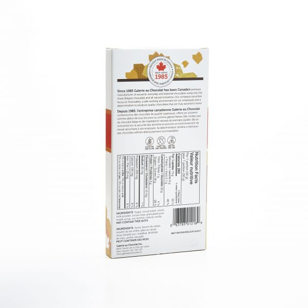 Milk Chocolate Canadiana Maple Crunch 100g