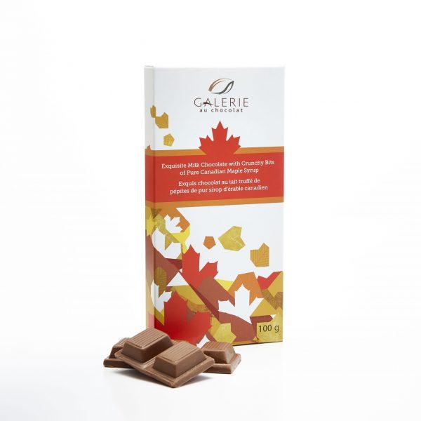 Milk Chocolate Maple Crunch 100g