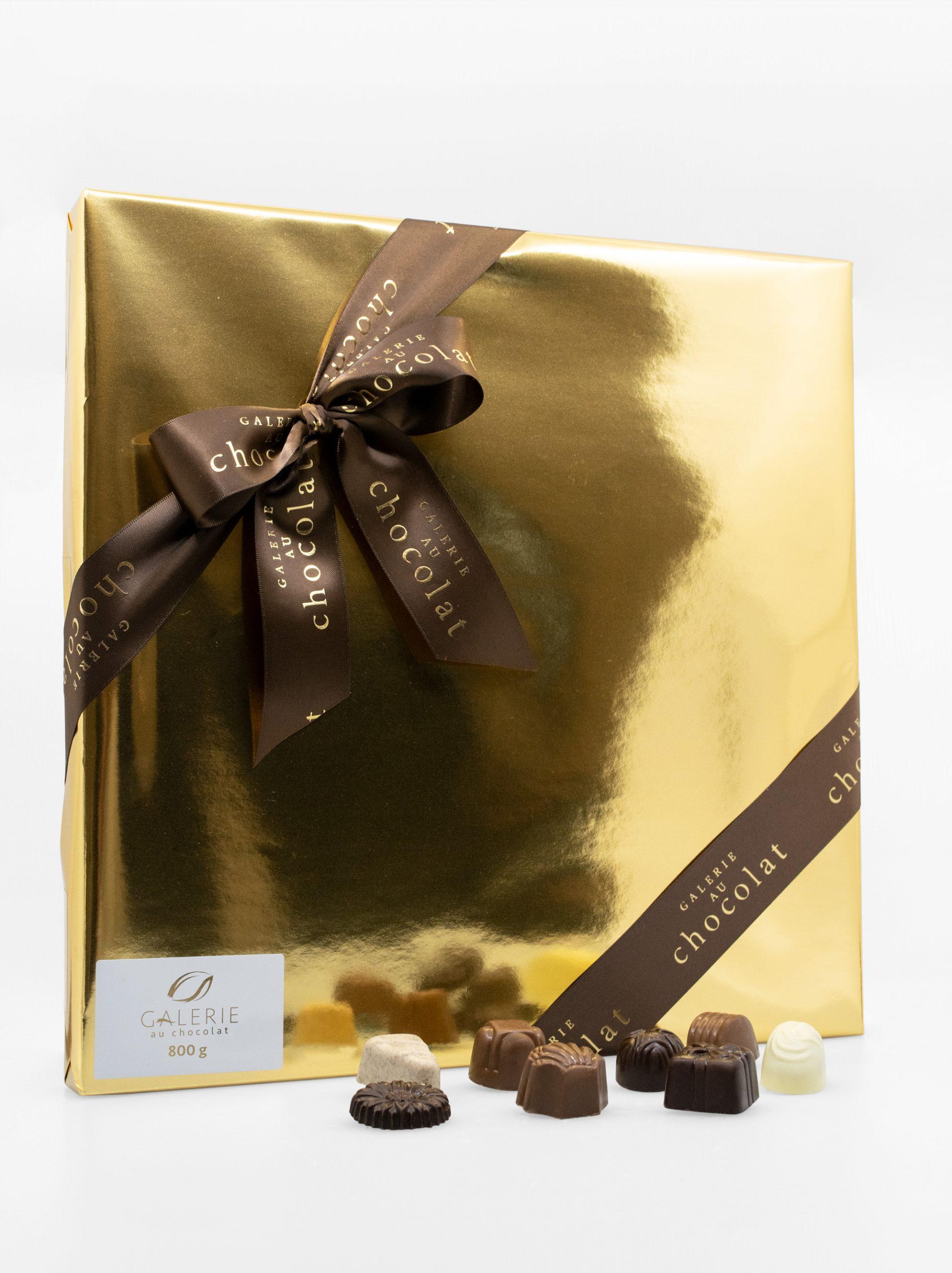 Boîte-Cadeau Signature de Chocolats Assortis – 800g