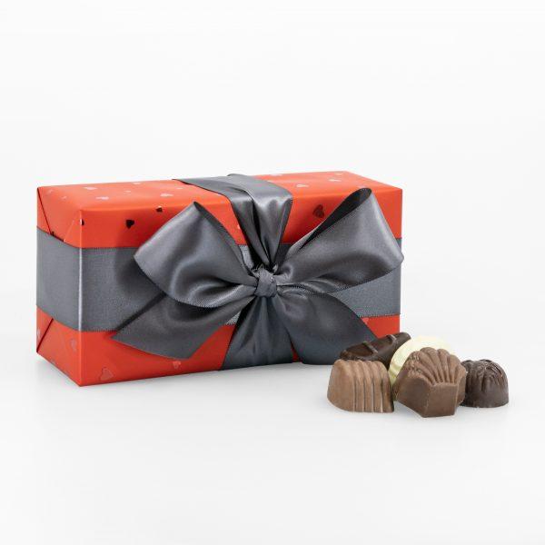 Boîte-Cadeau Signature de Chocolats Assortis – Saint-Valentin – 200g