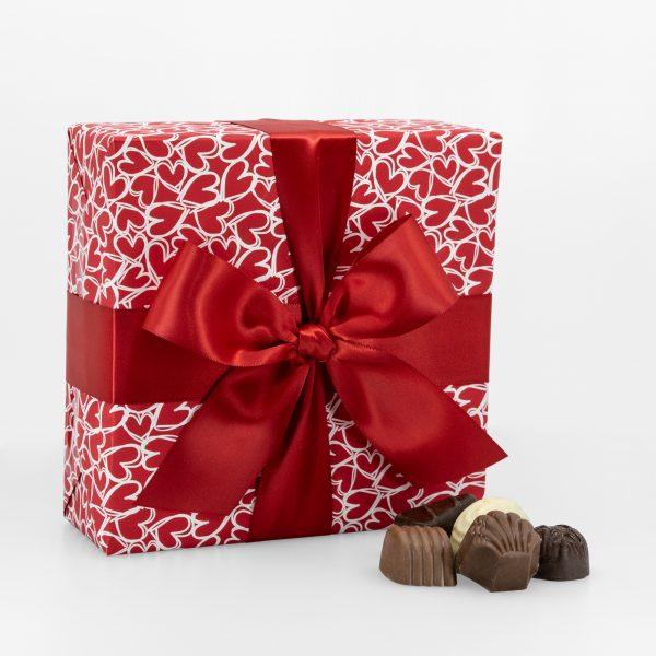 Boîte-Cadeau Signature de Chocolats Assortis – Saint-Valentin – 400g