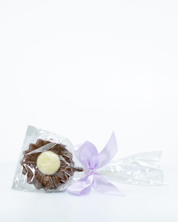Milk Chocolate Flower Lollipop – Easter – 30g