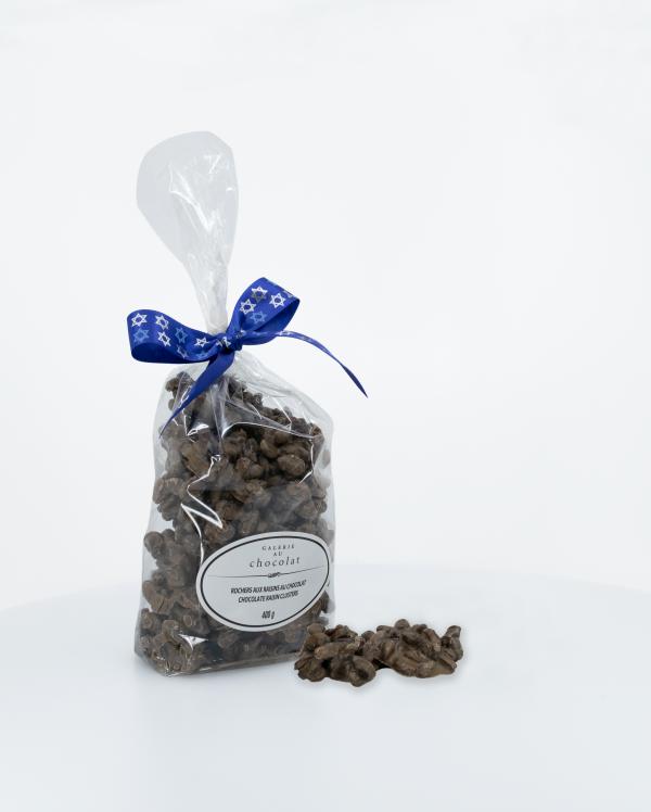 Produit Laitier Casher Rochers aux Raisins au Chocolat au Lait 400g