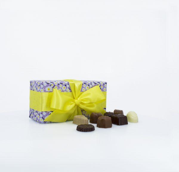 Boîte-cadeau Signature de chocolats assortis – Printemps - 200g