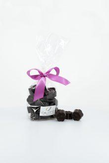 Fleurs de Chocolat Noir Croustillant