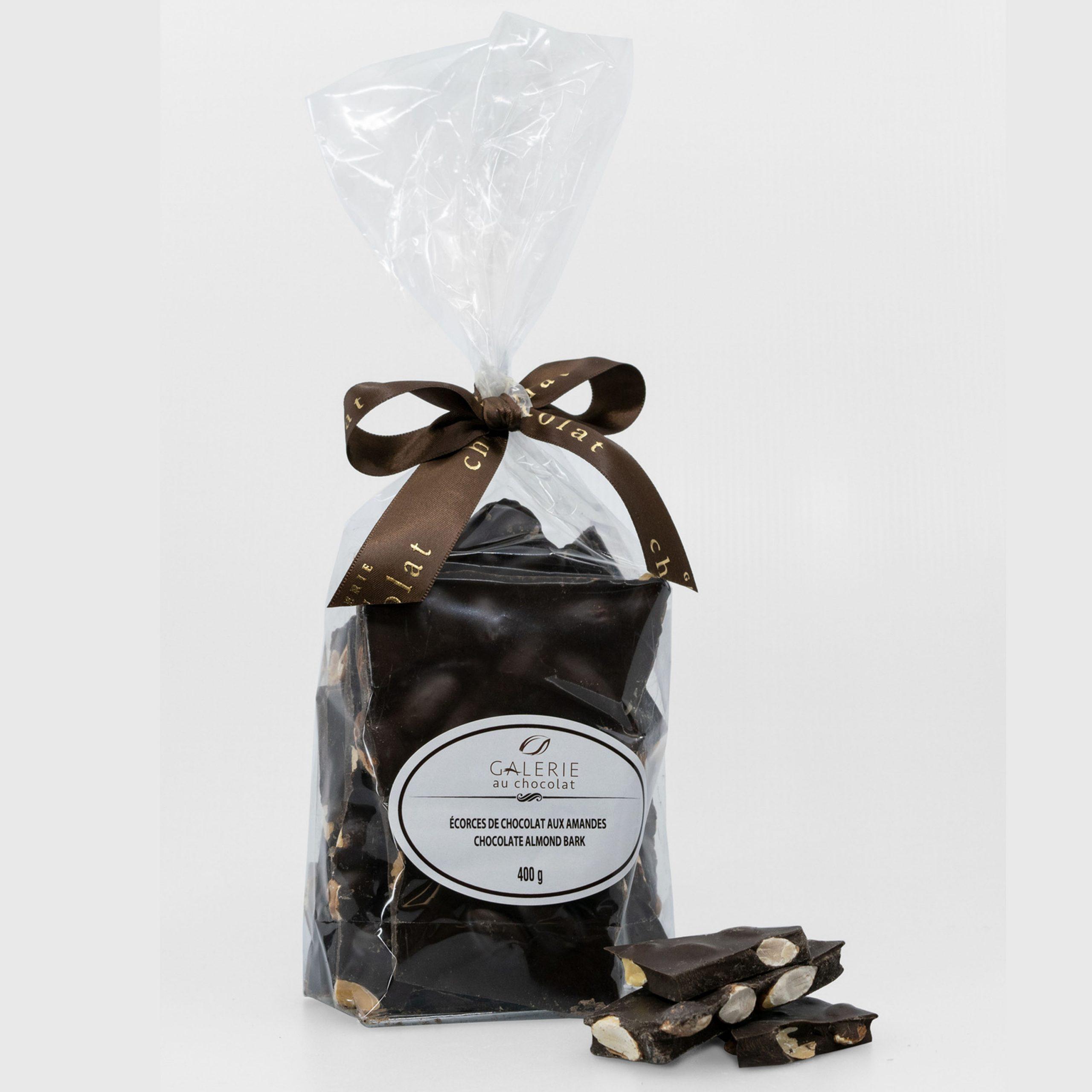 Dark Chocolate Almond Barks