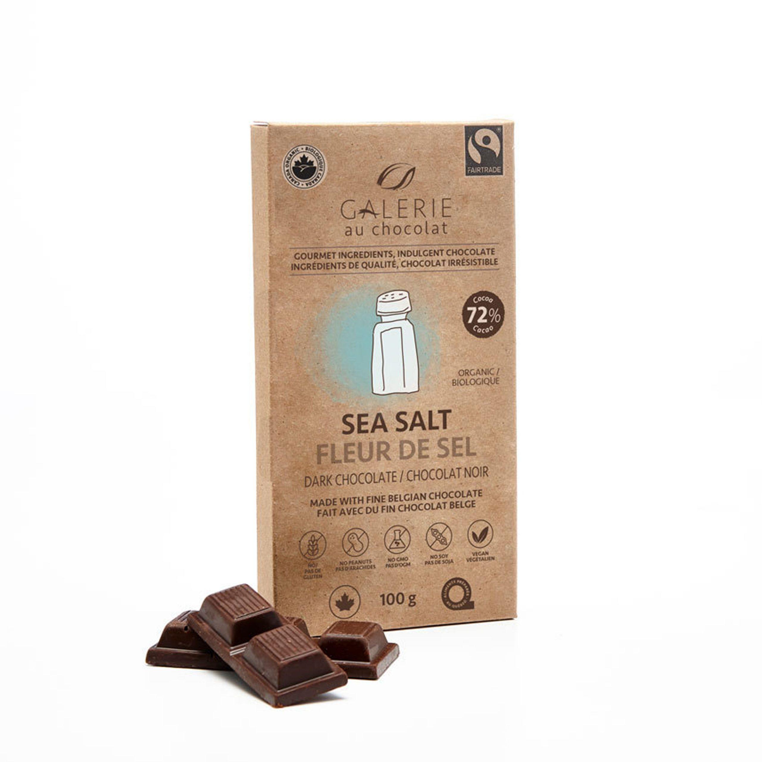 Fairtrade Dark Chocolate Sea Salt