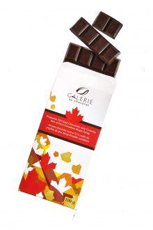 Dark Chocolate Canadiana Maple Crunch 100g