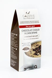 Chocolat Chaud au Lait à l'Ancienne Sans Sucre Ajouté