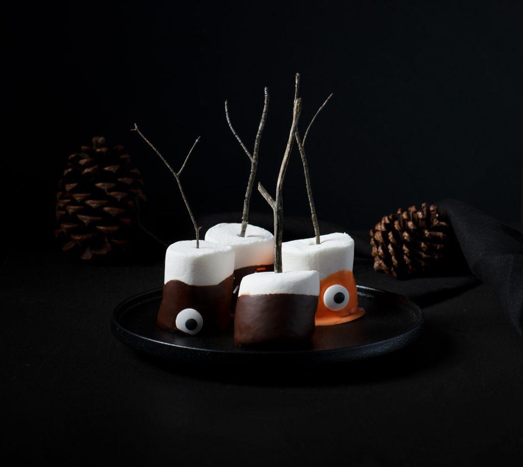 Halloween Chocolate Marshmallows